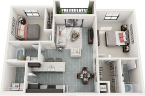 Bainbridge_MILA_FloorPlans_B1_2bed_2ba_960sq