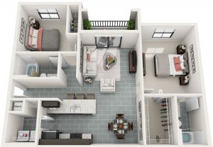 Bainbridge_MILA_FloorPlans_B2_2bed_2ba_1016sq